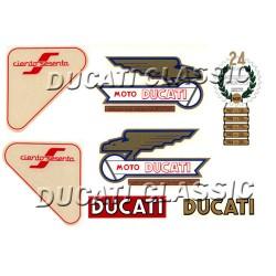 Jgo adhesivos Ducati 160 Sport
