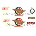 Jgo adhesivos Ducati 175 1ª S