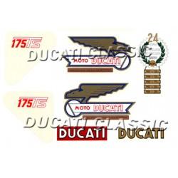 Jgo adhesivos Ducati 175 2ª S