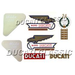Jgo adhesivos Ducati 200 Elite 2ª S