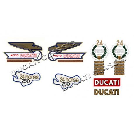 jgo adhesivos Ducati 24 H 1ª S