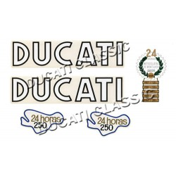 Jgo adhesivos Ducati 24 Horas 2ª Serie