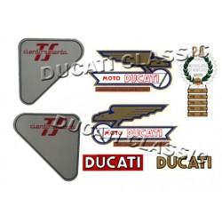 Jgo adhesivos Ducati 160 TS