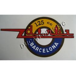 Adhesivos DERBI 125 cc