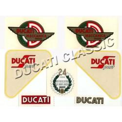 Jgo adhesivos Ducati 125 Sport