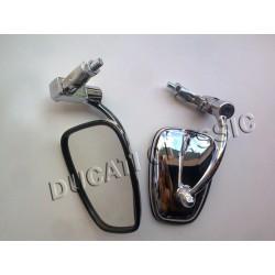 Retrovisor de fundicion ovalado al puño