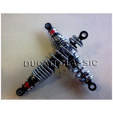Amortiguadores Betor muelle cromo 30 cm